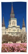 Jackson Square New Orleans Beach Towel