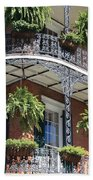 New Orleans Balcony Beach Sheet
