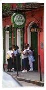 New Orleans Bourbon Street 2004 #44 Beach Towel