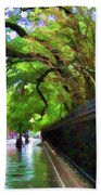 New Orleans French Quarter Paint  Beach Towel