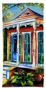 New Orleans Plain And Fancy Beach Towel