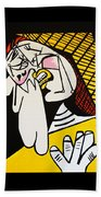 New Picasso The Weeper 2 Beach Towel