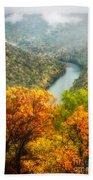 New River Gorge Wv Beach Towel