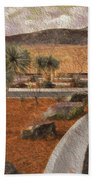 New Subdivision View Beach Towel