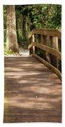 New Wood Bridge Park Trail Beach Towel