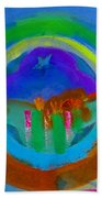 New World Spring Beach Towel