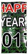 New Year Beach Sheet