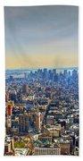 New York City - Manhattan Beach Towel