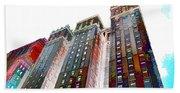 New York City 1 Beach Towel
