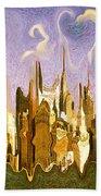 New York City 2200 - Modern Art Beach Towel