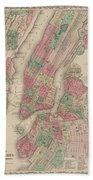 New York City, Brooklyn, Jersey City, Hoboken Beach Towel