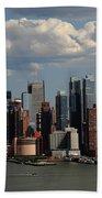 New York City Skyline 4 Beach Towel