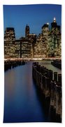 New York City - Skyline Beach Towel
