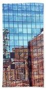 New York City Skyscraper Art 4 Beach Towel
