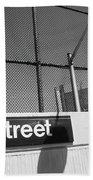 New York City Subway 86 Street Beach Towel by Ranjay Mitra