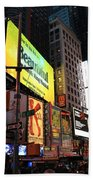 New York City Times Square Beach Towel