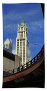 New York City - Woolworth Building Beach Towel