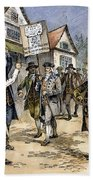 New York: Stamp Act , 1765 Beach Towel