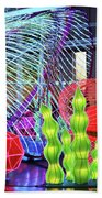 New York State Chinese Lantern Festival 4 Beach Towel
