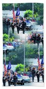 New York State Police Color Guard  1 Beach Towel