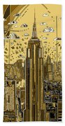 New York Urban Colors 3 Beach Towel