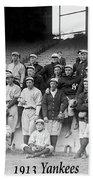New York Yankees 1913 Beach Towel