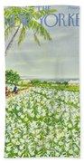 New Yorker April 20 1957 Beach Sheet