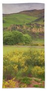New Zealand Countryside Beach Towel