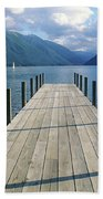 New Zealand Dock Beach Towel