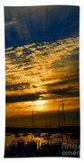 Newport Sunset Beach Towel