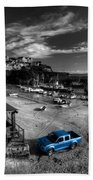 Newquay Harbour  Pickup  Beach Towel
