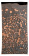 Newspaper Rock Beach Towel