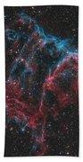 Ngc 6995, The Bat Nebula Beach Towel