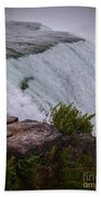 Niagara Fall Edge Beach Towel
