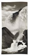 Niagara Falls, C1888 Beach Towel