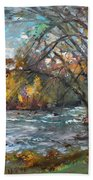 Niagara Falls Lake Beach Towel