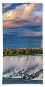 Niagara Falls - The American Side 3 Beach Towel