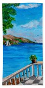 Nice View Beach Towel