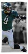 Nick Foles Eagles Super Bowl 2 Beach Towel