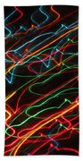 Night At The Races Beach Towel