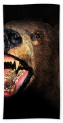 Night Attack Beach Towel