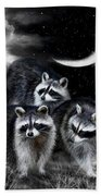 Night Bandits Beach Towel