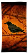 Night Guard Beach Towel