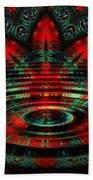Night Moves Beach Towel