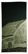 Night On The Farm Beach Towel
