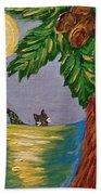 Night-swimming Mercat Beach Towel
