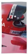Niki Lauda. 1978 United States Grand Prix Beach Towel