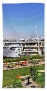 Nile Cruise Ships Aswan Beach Towel