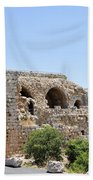 Nimrod Fortress National Park  Beach Towel