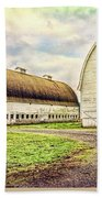 Nisqually Twin Barns Beach Towel